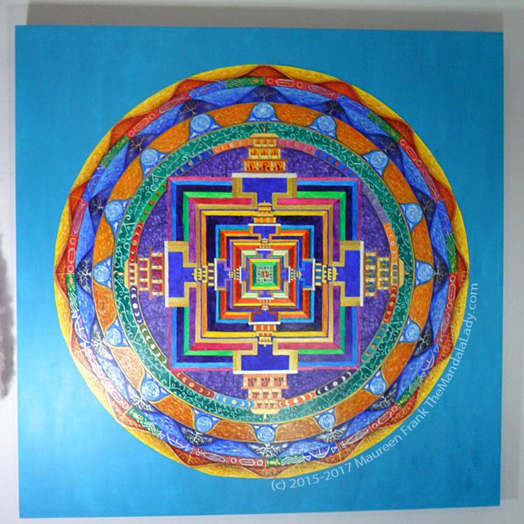Archangel #1 Mandala: 22 - Full View